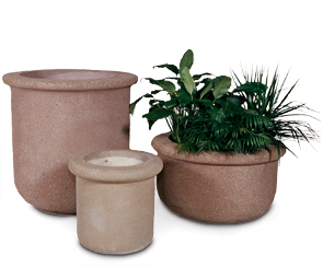 Model F-42X42 | Model F-42X24 | Model F-18X24 | Round Concrete Planters | Fabres Series