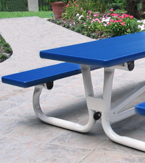 Quick Folding Rectangular Picnic Table for Kids