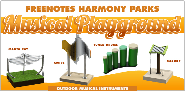 Freenotes Harmony Parks Musical Playgrounds