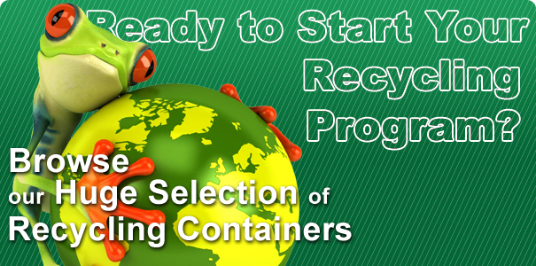 Browse Our Huge Selection of Recycling Containers