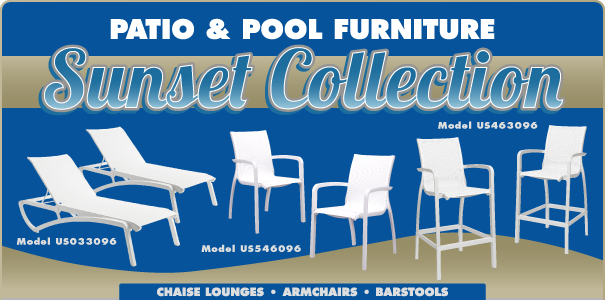 Sunset Collection - Chaise Lounges, Armchairs & Barstools