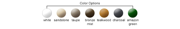 Resin Color Options