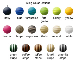 Sling Color Options