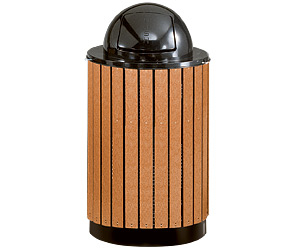 Model H55C | Model 1855 | Perforated Basket Waste Receptacles