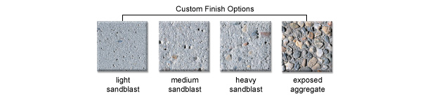 Custom Finish Options