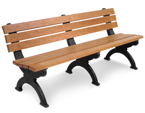 Model HB72 | Monarque Recycled Plastic Memorial Bench