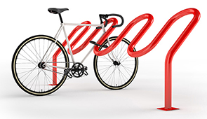 Model HI2H-FT-EPX | Hi Roller Bike Rack