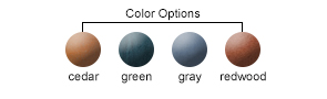 Seat/Back Color Options
