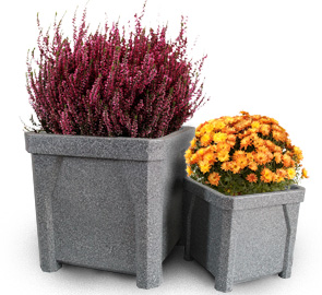 Model KCP24-G | Model KCP16-G | Polyethylene Square Planters