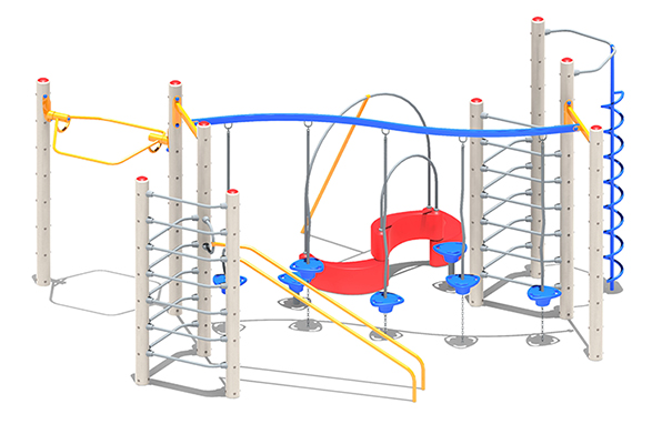 Rainier Playground Structure
