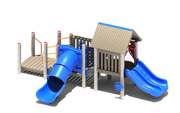 Bungalow Playground Structure