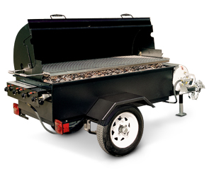 Model MOBILE-II | LP Gas Fired Trailer Unit