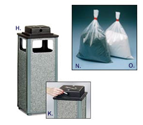 Weater Urns & Replacement Bags Of Sand - White or Black
