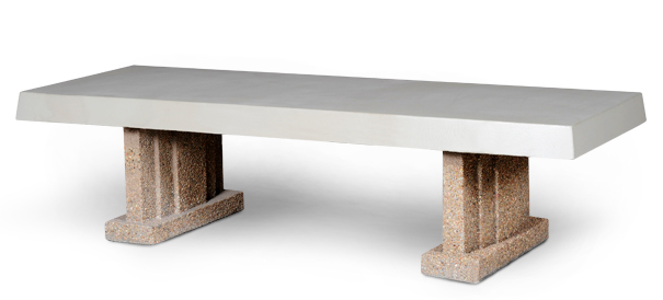 Model PB-SQ-6 | Wide Concrete Bench