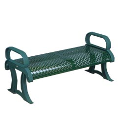 Model PB4CBS | Perforated Steel Collection with Cast Iron Frames (Teal)
