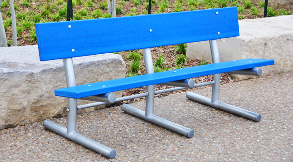 Model PB6-MAD-STD | Madison Park Bench (Blue)