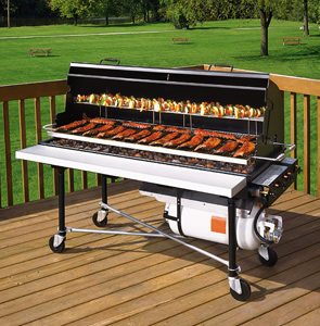 Model PG-2460-II | PORTA-GRILL® II Liquid Propane Gas Fired Grill with Accessories