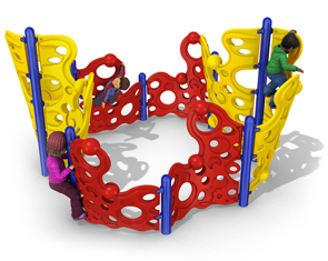 8-Section Bubble Wall Climber Circle