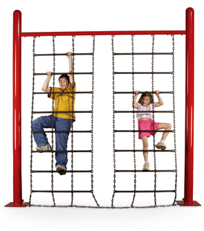 Chain Climbing Wall for Playgrounds