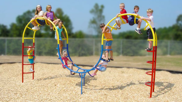 Double Hump Camel Climber Playground Ladder