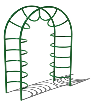 Model PGC-CSHC | Single Hump Camel Climber Playground Component (Green)