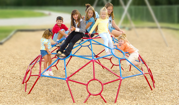 Model PGC-CSP | Space Pod Dome Climber Playground Component
