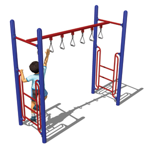Model PGC-LTRH | Trapeze Ring Horizontal Ladder