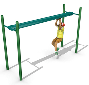 10-Foot Long Track Ride Playground Component