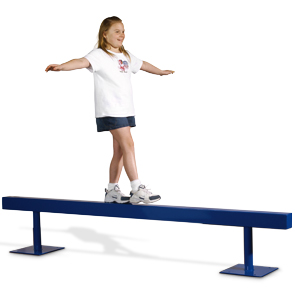 Straight Balance Beam for Playground