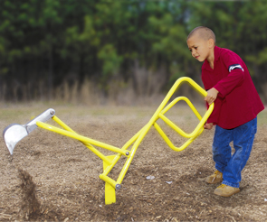 Model PGC-SDH-I | Handicap Accessible ADA Sand Digger Playground Component