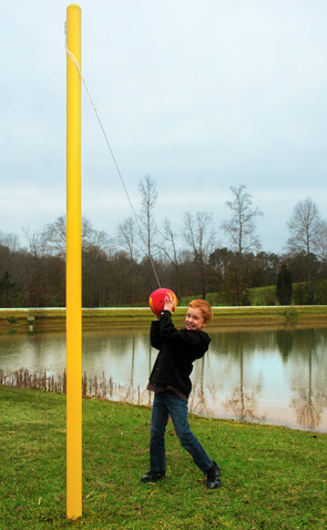 Model PGC-TETHER | Tether Ball with Steel Post Playground Set