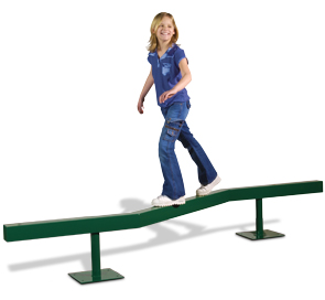 Model PGC-ZZBB | Zig Zag Balance Beam for Playground
