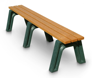 Model PLS6NB-P | Recycled Plastic Engraved Benches