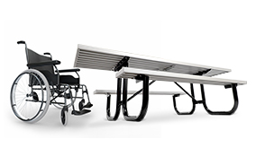Park Master Picnic Table | Universal Access