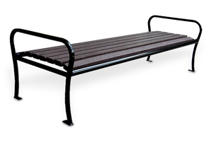 Model PVRB6 | Parkview Recycled Plastic Benches