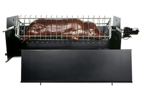 Model ROTO-BQ-R | Rotisserie with Spit Basket