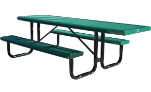 Model RSL8H-P | Thermoplastic Portable ADA Table (Green)