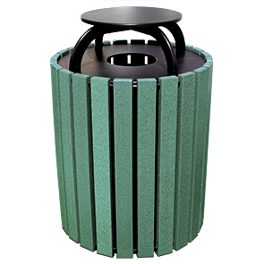 Model RT49C | 49 Gallon Trash Receptacle with Cap