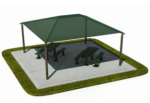 Outdoor Canopy Superior Shade Structures
