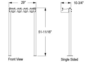 Model SRS-6-SF-Quick Dimensions