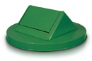 Swing Top Lid Painted Green