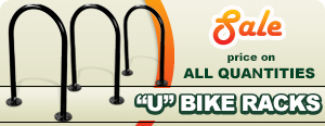 Sale on U Bike Racks