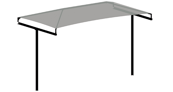 T-Cantilever Shade