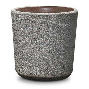 Model TF1220 | Round Concrete Trash Receptacle