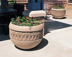 Model TF4220 | Concrete Planters (Buff)