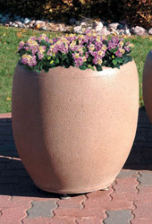 Model TF4351 | Precast Concrete Planters (Cream)