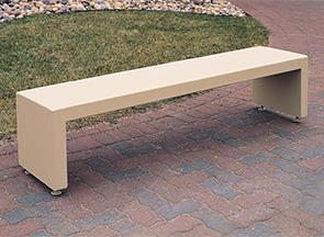Model TF5026 | Backless 6' Concrete Bench (Buff)