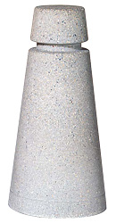 Model TF6072 | Precast Concrete Bollard (Gray)