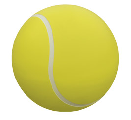 Model TF6213 | Concrete Tennis Ball Bollards (Yellow/White)