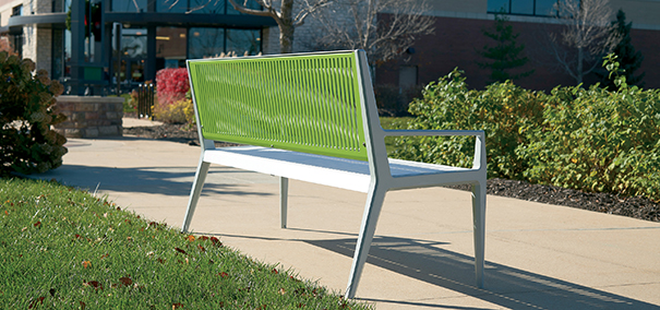 Tandem Collection Perspective Bench | 6' Length